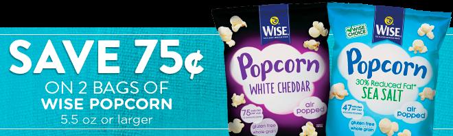 wise popcorn coupon