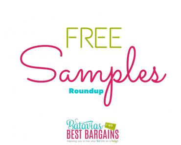 free samples roundup