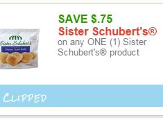 sister schuberts coupon