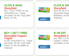 stonyfield coupons