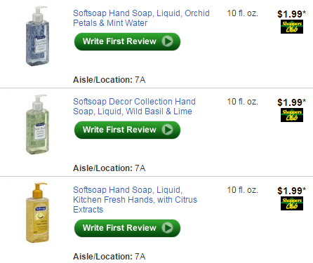 image relating to Wegmans Printable Coupon known as $0.99 Softsoap Hand cleaning soap at Wegmans with coupon! - Batavias