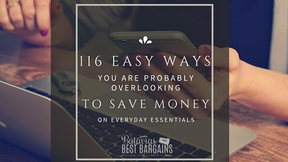 100-Easy-Ways-to-save-money-on