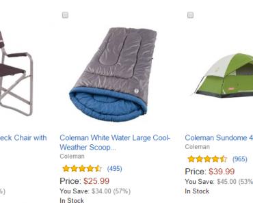 amazon coleman deals