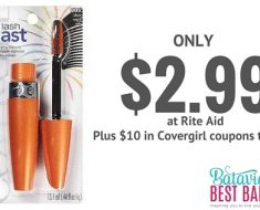 covergirl lashblast mascara deal and coupon