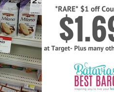 milano cookies deal at target