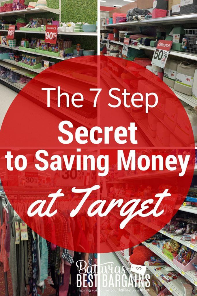 7 steps to take to save money at atarget