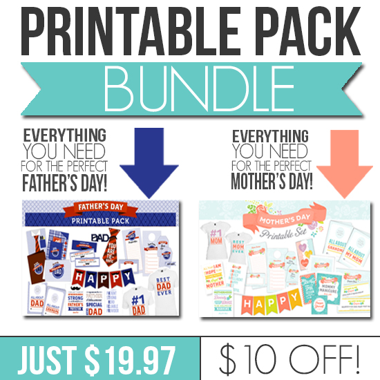 fathers day and mothers day printable pack