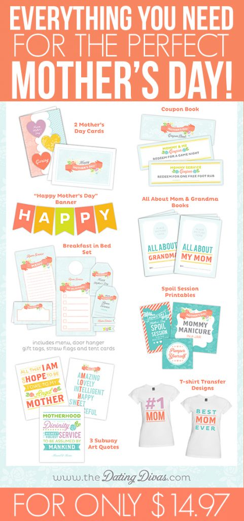 mother's day printable pack