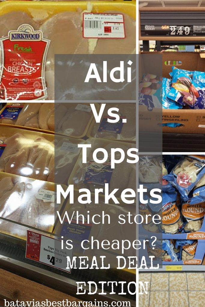 aldi vs. tops which is cheaper meal deal 2016