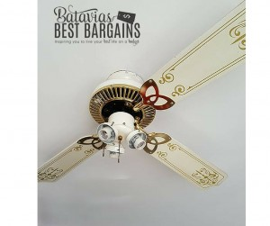 how to DIY a ceiling fan