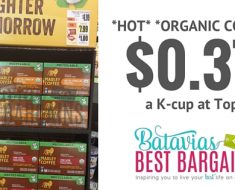 organic marley coffee k cups deal at tops