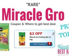 miracle gro potting sopil deal