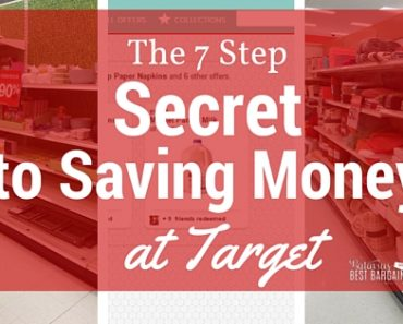 seven steps to savings money at target every day 2016