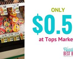 friendly's ice cream deal at tops