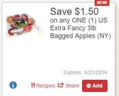 tops -apples- coupons