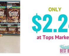 big g cereal deal at tops cookie crisp coupon
