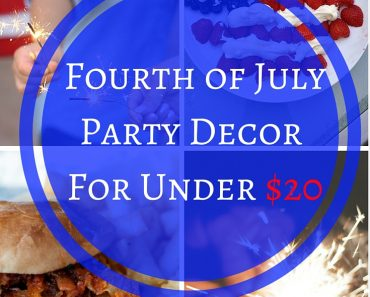 Fourth of july party decorations ideas