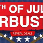 4th of july door buster deals
