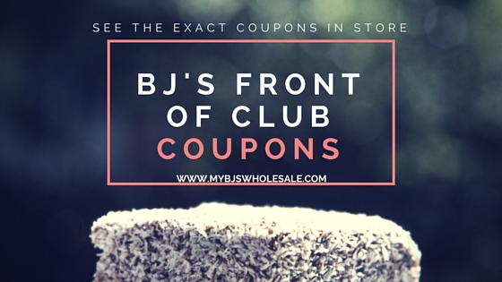 New BJs In Club Coupons & Deals 9/24- 10/13