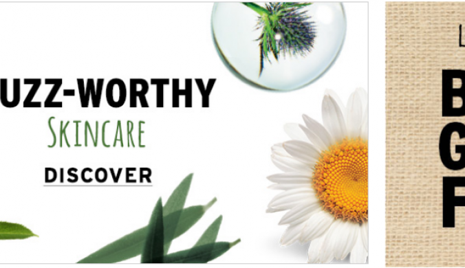 Buy 3 get 3 free sale at Body shop
