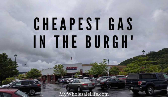 MyWholesaleLife Costco Pittsburgh Yinzers Gas