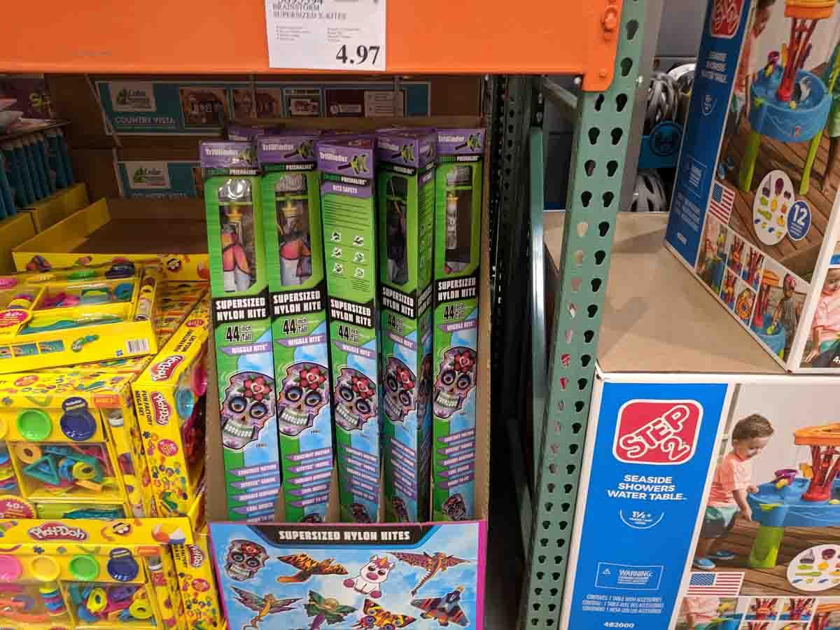 Kids Nylon Kites $4.97
