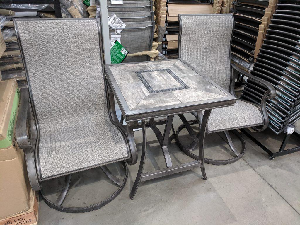 costco patio furniture set