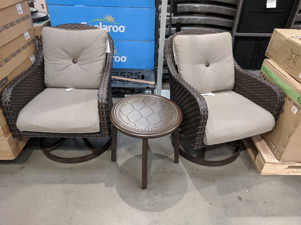 outdoor dining set costco