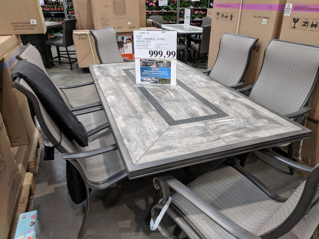 Outdoor Patio Furniture At Costco Roundup My Wholesale Life