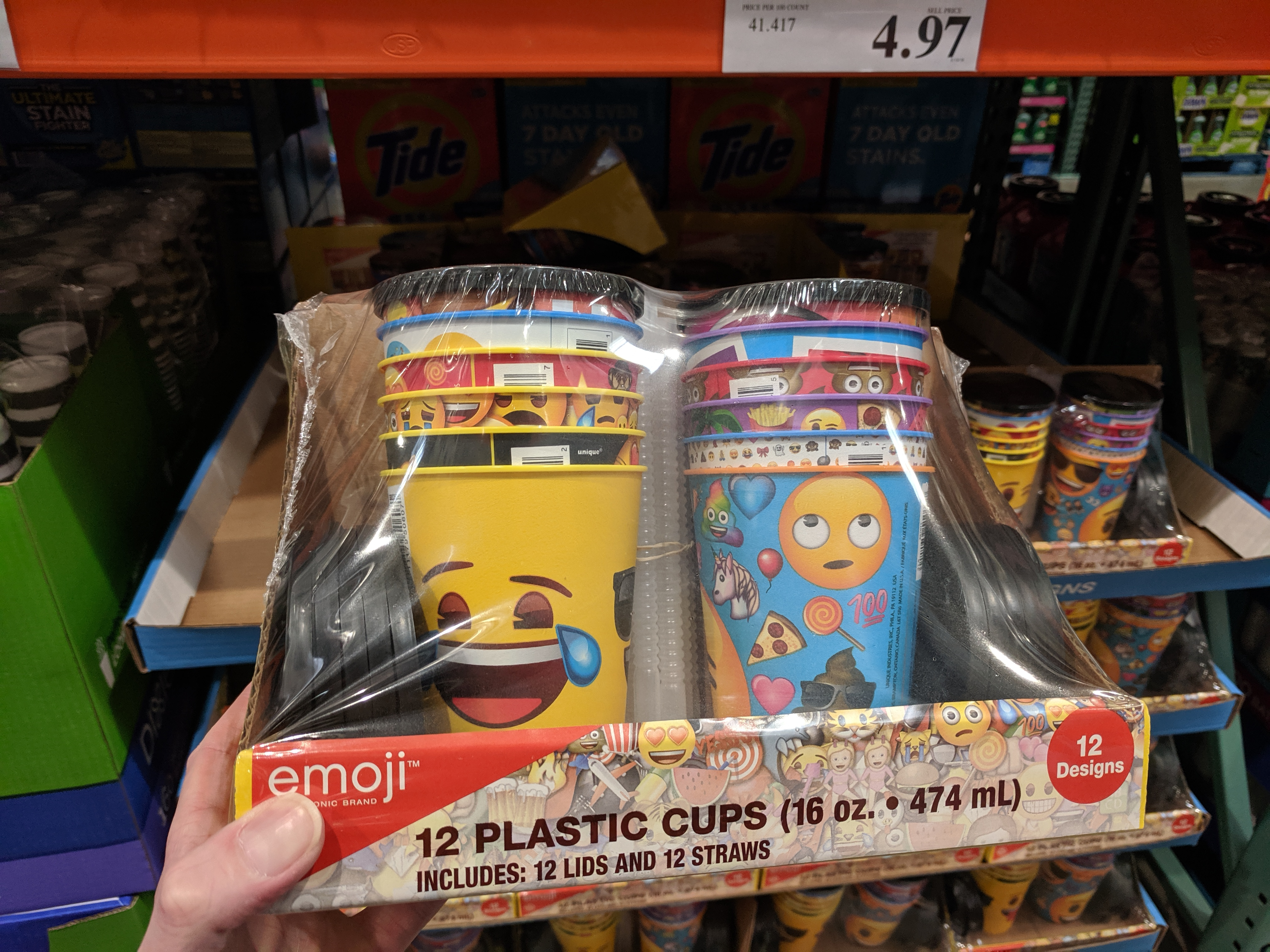 emoji party set clearance costco
