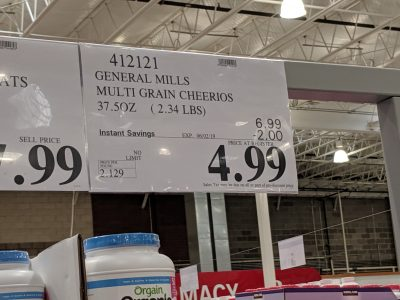 Multigrain Cheerios Costco Wholesale