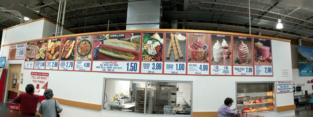 Costco Food Court Menu MyWholesaleLife Prices Cheap Pittsburgh