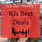 best bjs club deals weekly