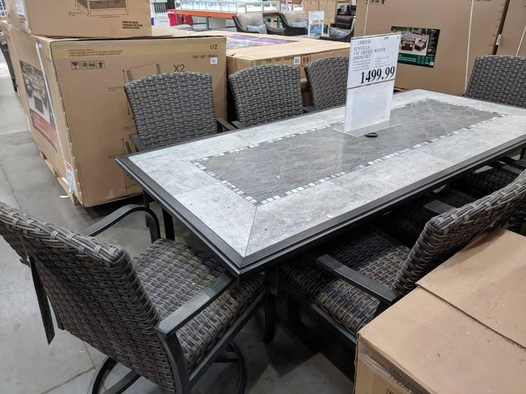 costco patio furniture sets