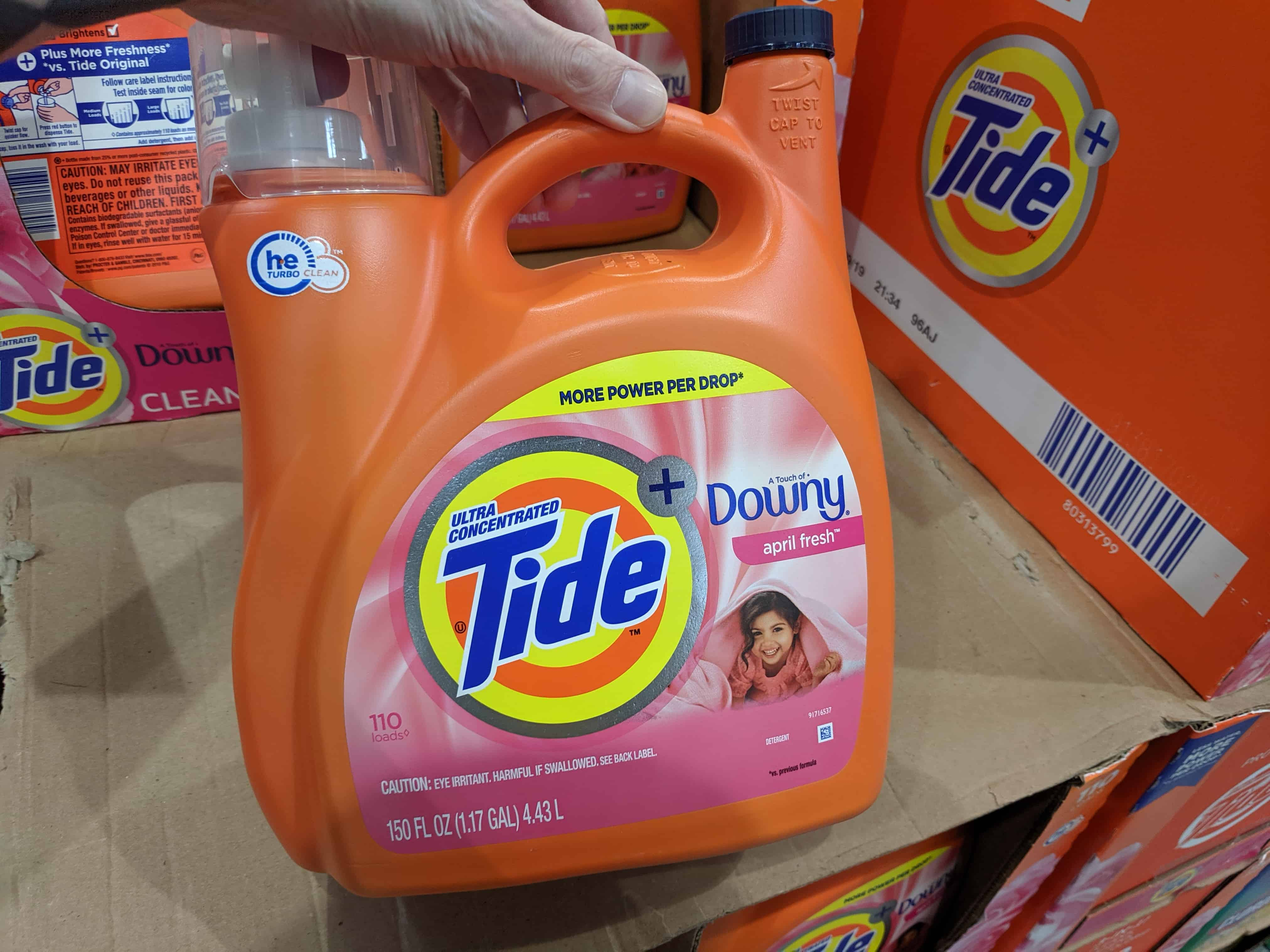 tide detergent at costco cheap