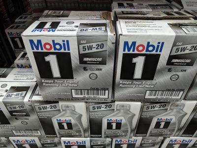 Mobil 1 oil costco