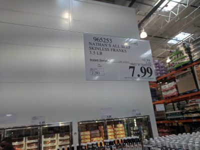 nathans hot dogs costco
