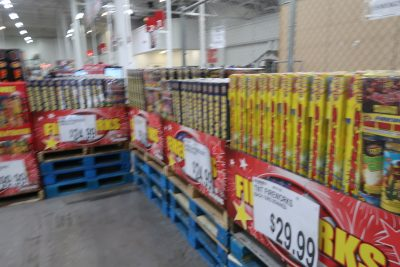 fireworks for sale at BJs