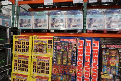 fireworks at costco wholesale club
