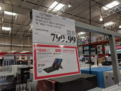 Surface Pro 6 Bundle Costco
