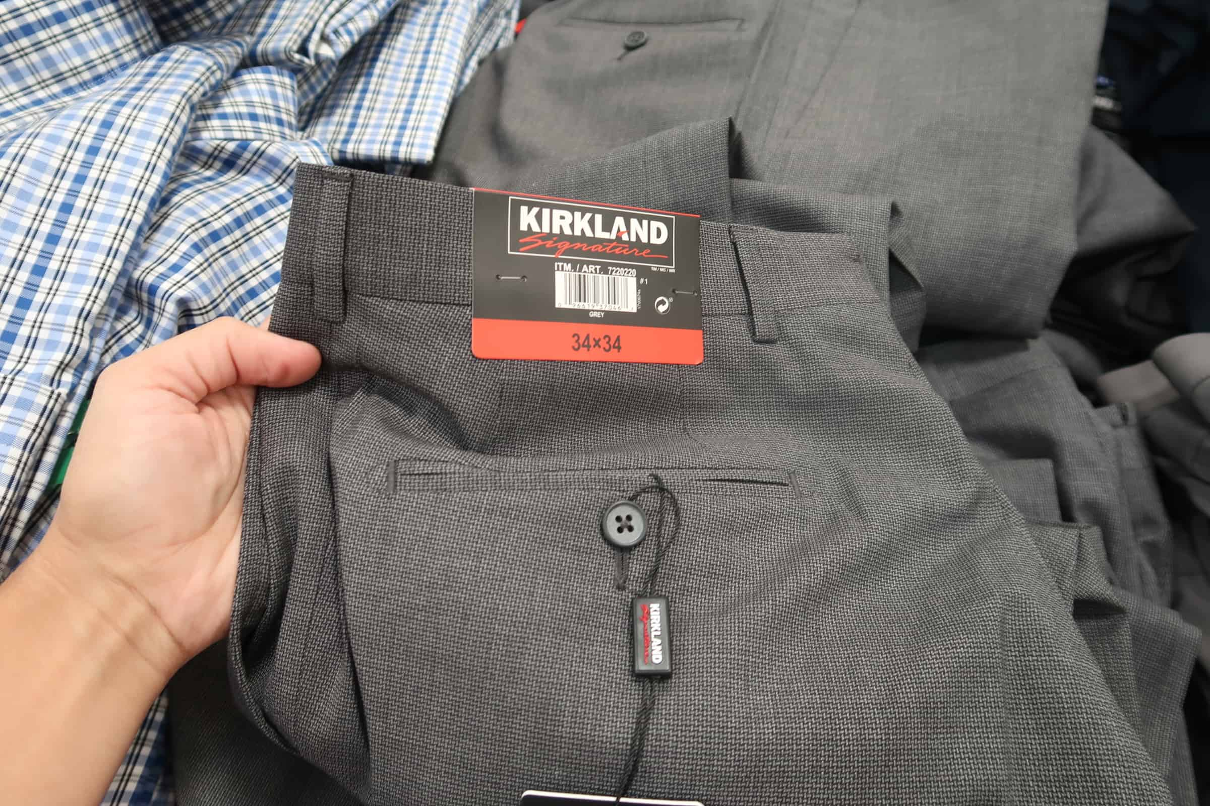 kirkland dress pants at costco