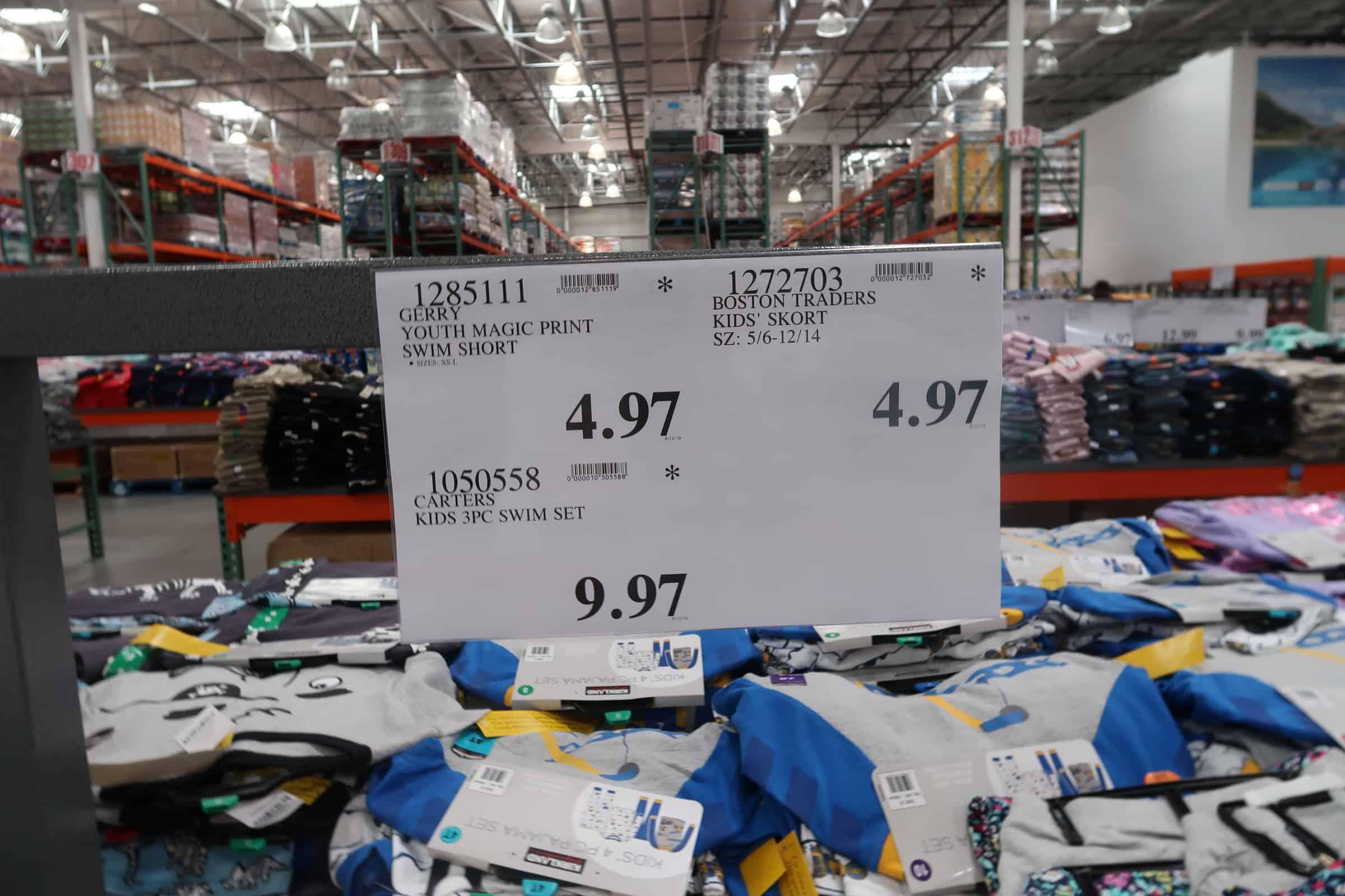 carters clothes deal at costco
