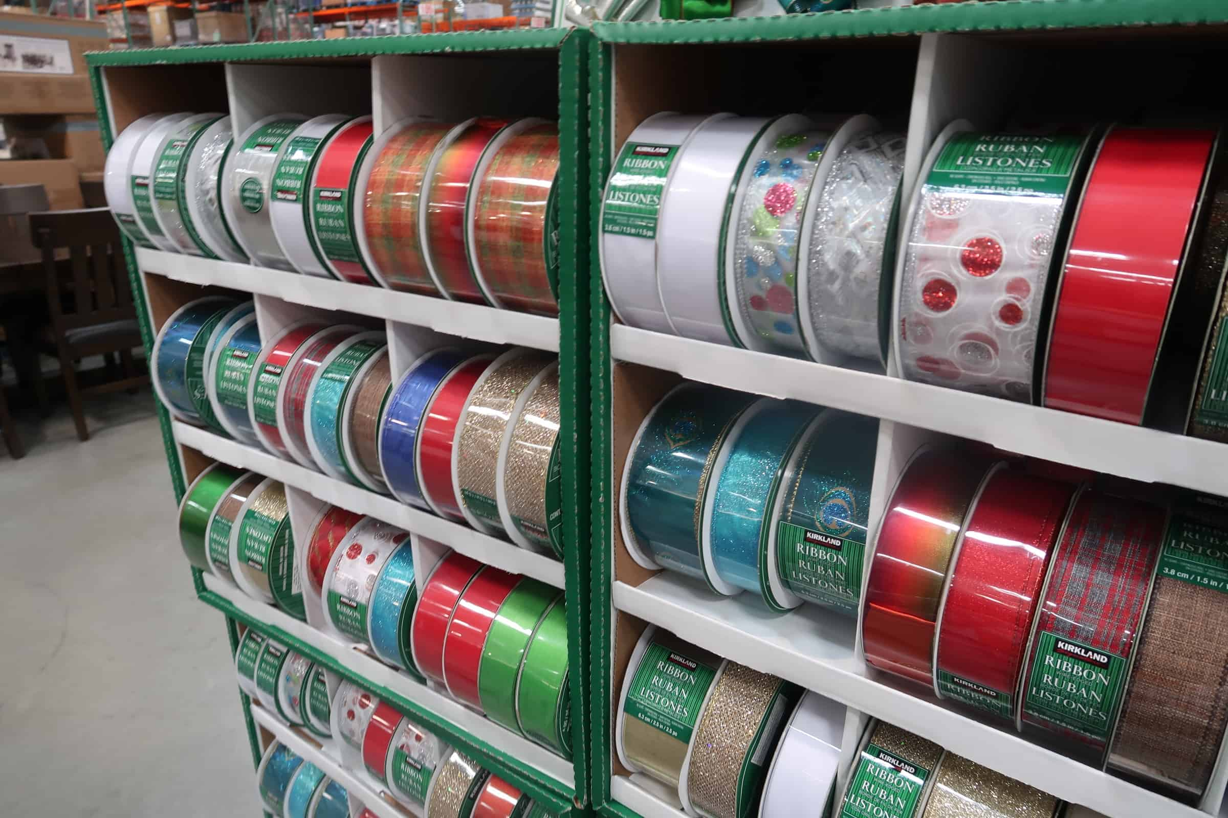 Well the Holiday Ribbon is Now at Costco