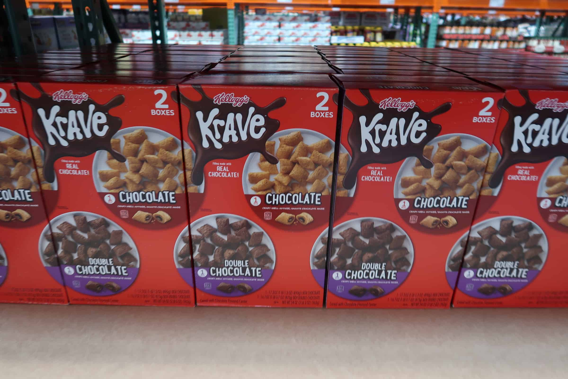 Krave Cereal Now at Costco!