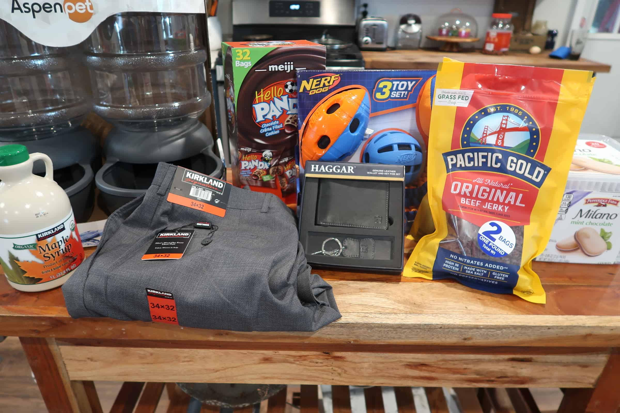 shopping haul at bjs and costco wholesale club