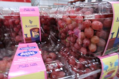 candy heart grapes at Costco
