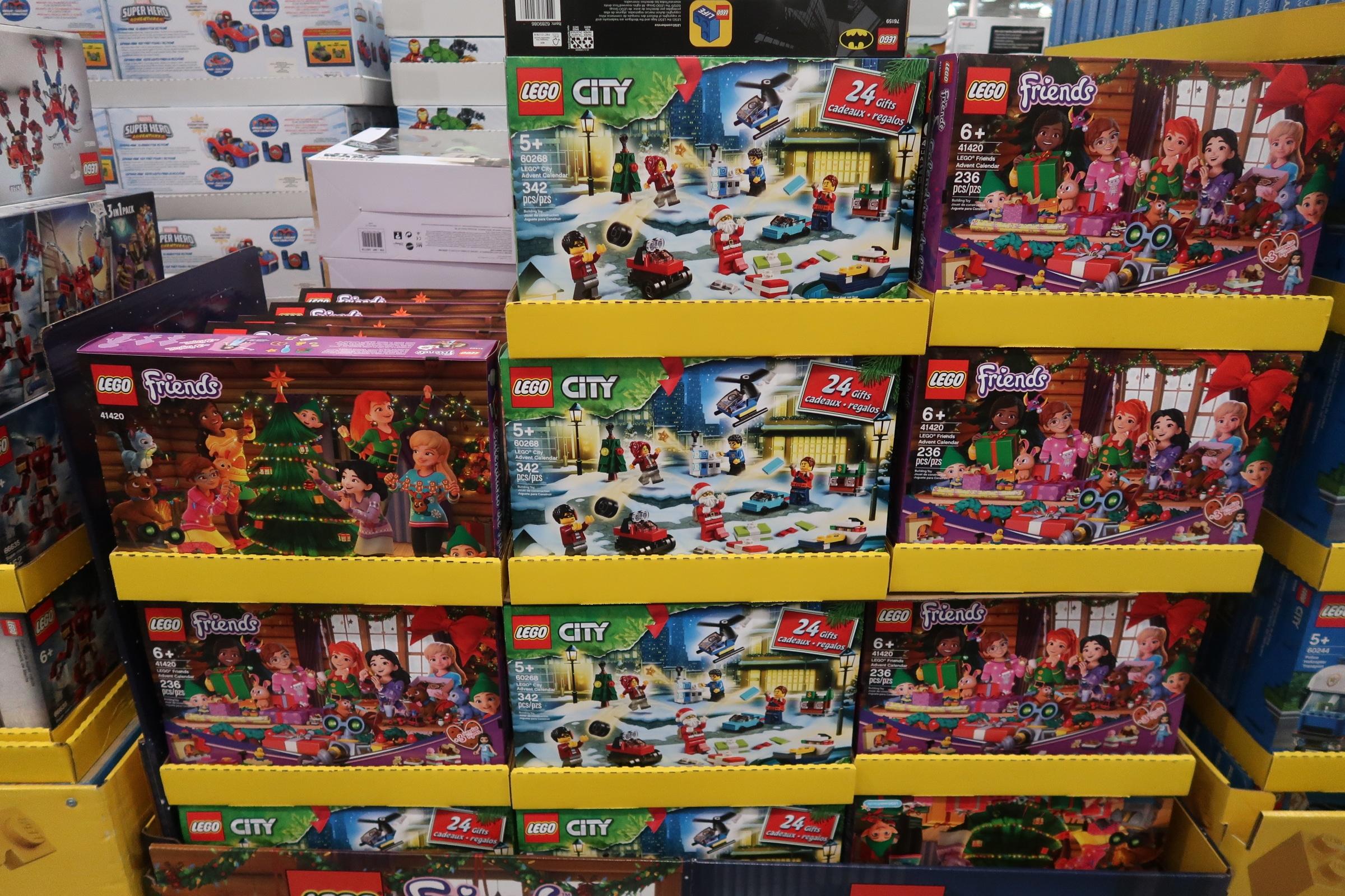 Lego Sets & Lego Advent Calendar Deals at Costco