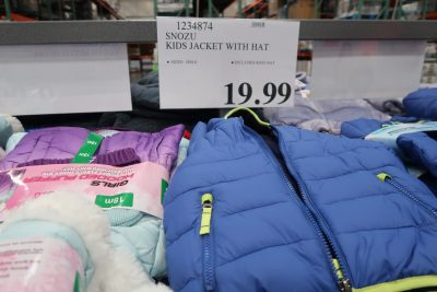 kids puffer jacket at costco