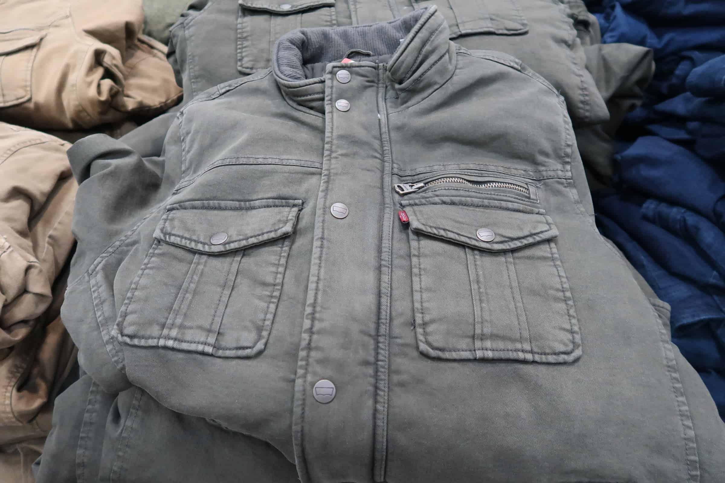 levi mens jacket