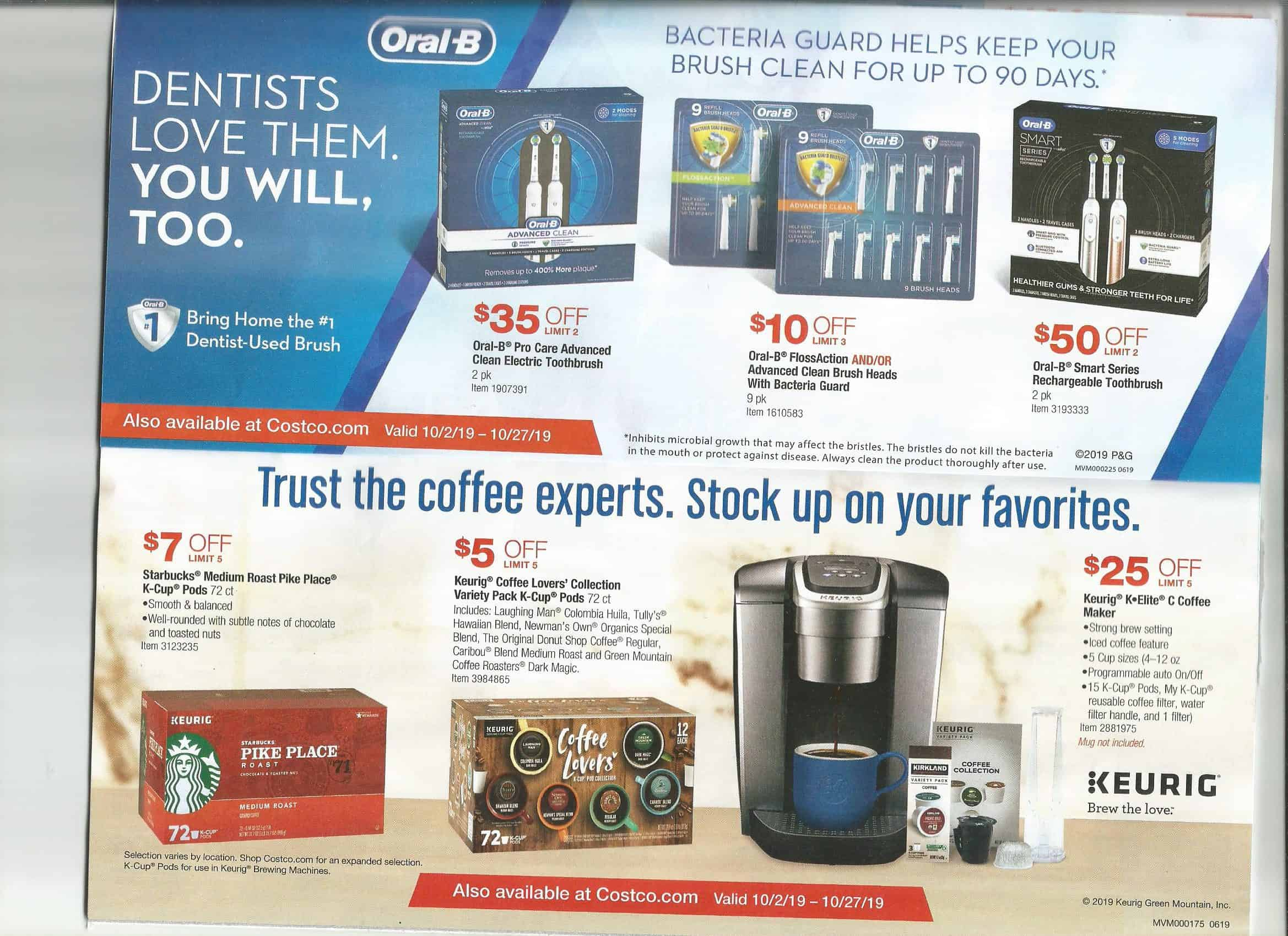 cosrtco coupon book october 2019